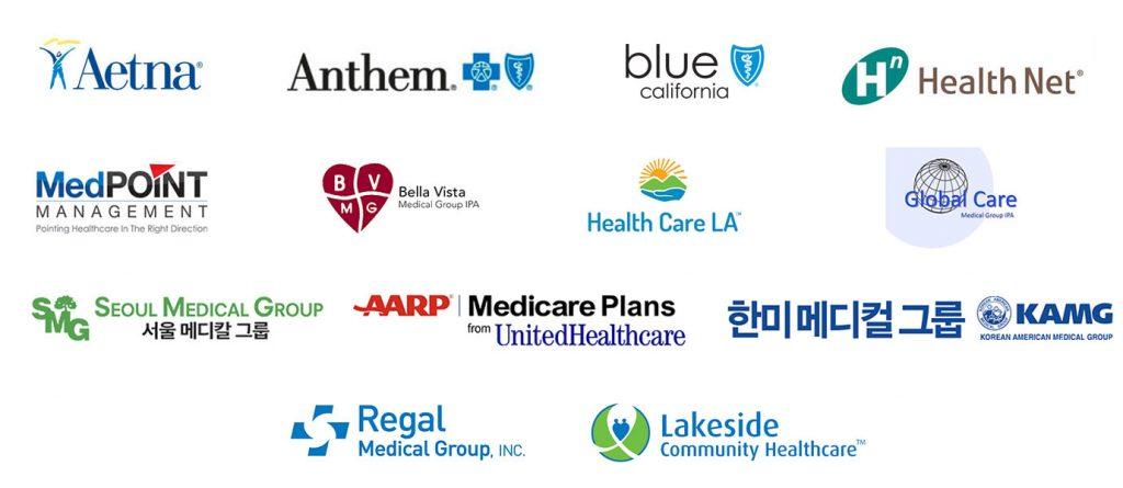 many business logos
