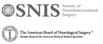 society of neurointerventional surgery and the american board of neurological surgery logos