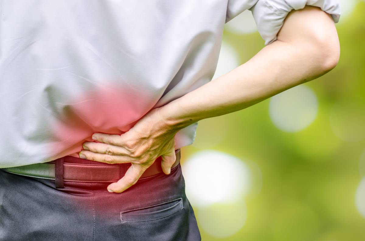 Signs of spinal disc problems.