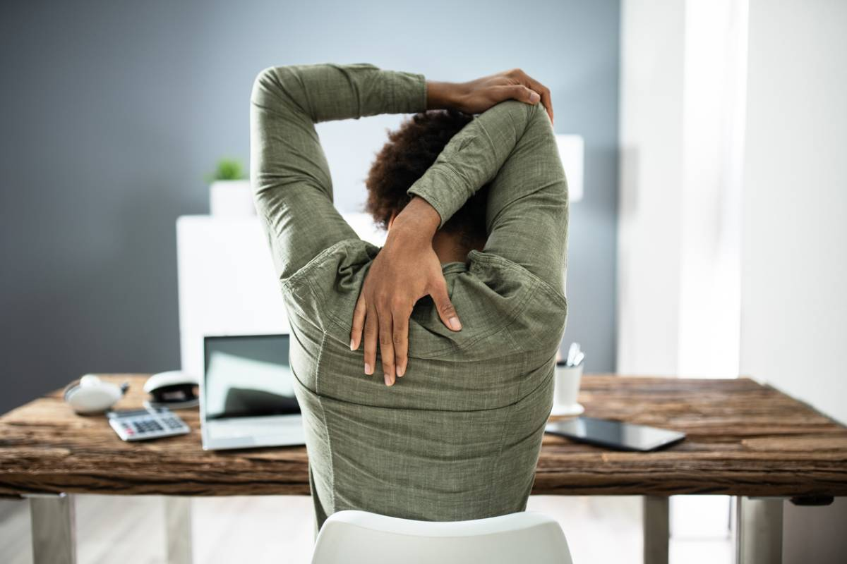 Strengthen your lower back for your desk job.